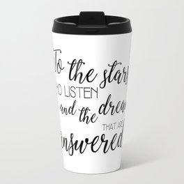 to the stars who listen (acomaf) Travel Mug
