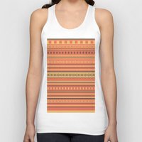 indian Tank Tops featuring Indian by Julia Brnv