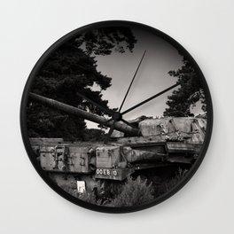 Cold War Warrior Wall Clock