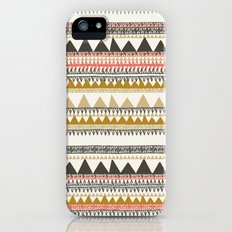 Mountain triangle pattern iPhone (5, 5s) Slim Case