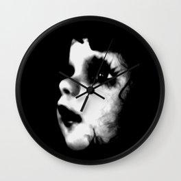 Creepy Doll Face Wall Clock