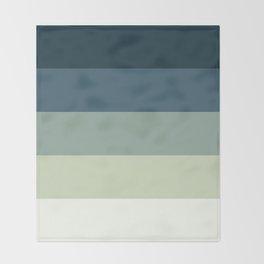 Nautical Stripes Throw Blanket