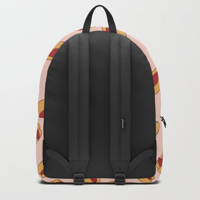 Hot Dog Dachshund Backpack