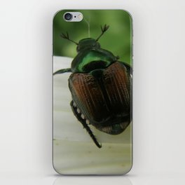 Metallic Emerald Green iPhone Skin