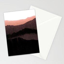igneous rocks 3 / dusk edit Stationery Cards