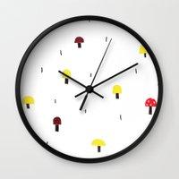 shroomies Wall Clock