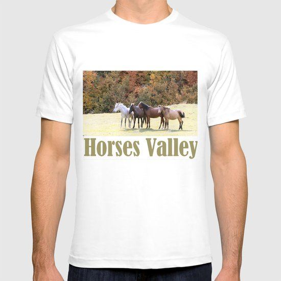 Horses Valley T-shirt