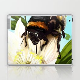Bee on flower 5 Laptop & iPad Skin