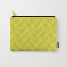 Chevron intrecciato Carry-All Pouch
