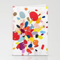 study Stationery Cards featuring Color Study No. 2 by Emily Rickard