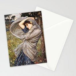 John William Waterhouse - Boreas Stationery Cards
