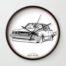 Crazy Car Art 0199 Wall Clock