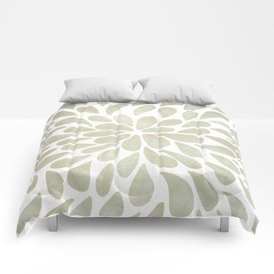 Petal Burst #3 Comforters