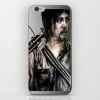 daryl dixon iPhone & iPod Skins featuring Daryl Dixon by Mandi Ward