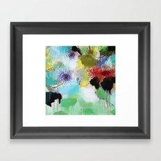 Spring juice Framed Art Print