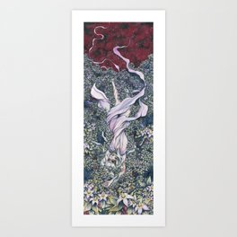 Slake Art Print