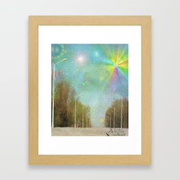 Dream Street Framed Art Print