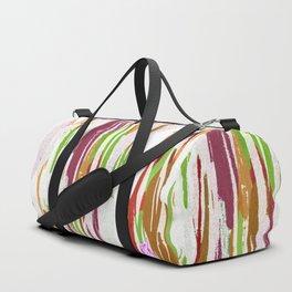Abstract Rainbow Splash Design Duffle Bag