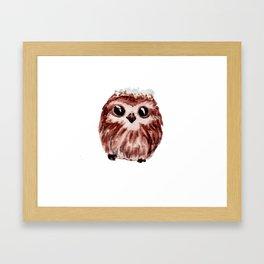 little owl - petite chouette Framed Art Print