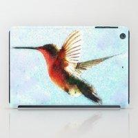 hummingbird iPad Cases featuring Hummingbird by Nichole B.