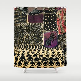 Want to mourn, let be Shower Curtain