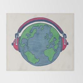 World Music Throw Blanket