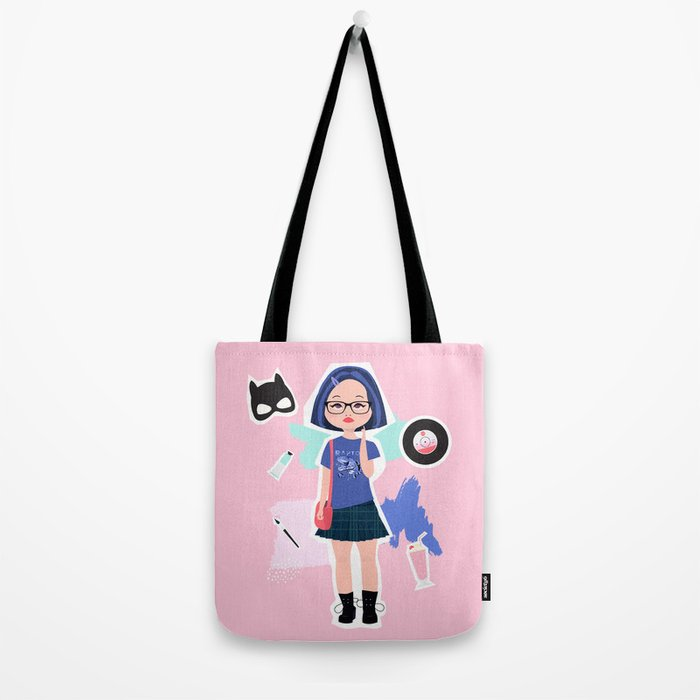 Enid from Ghost World Tote Bag