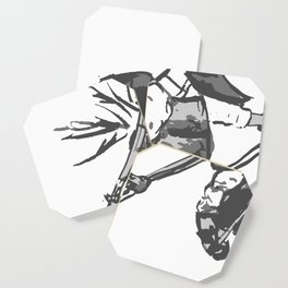 Naginata Sumi-E by Takemi Coaster