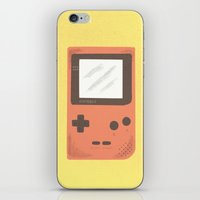 gameboy iPhone & iPod Skins featuring Gameboy by Things and Other Things