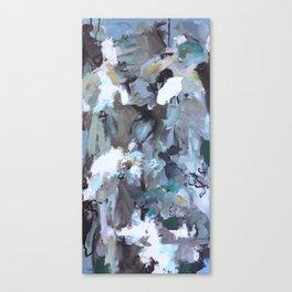 Blue Composition  Canvas Print