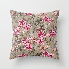 EXOTIC GARDEN IX Throw Pillow