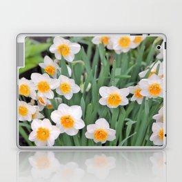 White Daffodils  Laptop & iPad Skin