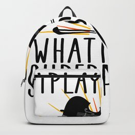I play violin what is your superpower Backpack