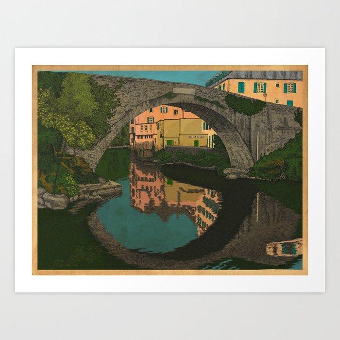 The River Kunstdrucke