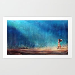 I Have Crossed the Horizon to Find You Art Print