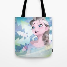 Elsa, Snow Queen Tote Bag