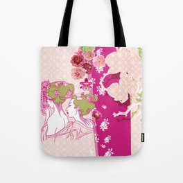 Spring geishas Tote Bag