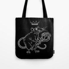 Rat King (white) Tote Bag