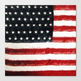 USA Flag ~ American Flag ~ Ginkelmier Inspired Canvas Print