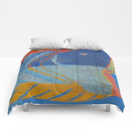 Tête de Poisson Comforters