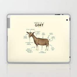Anatomy of a Goat Laptop & iPad Skin
