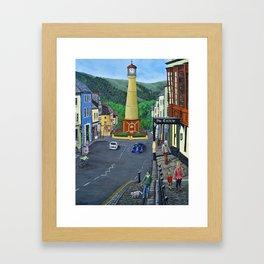 Tredegar Town Clock Framed Art Print