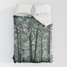 Spring Snow Duvet Cover