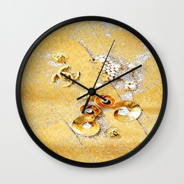 COCO GLAMOUR AND VINTAGE ACCESORIES Wall Clock
