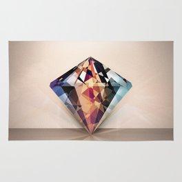 DIAMOND IS A GIRLS BEST FRIEND Rug