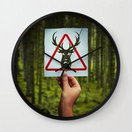 stop poaching Wall Clock