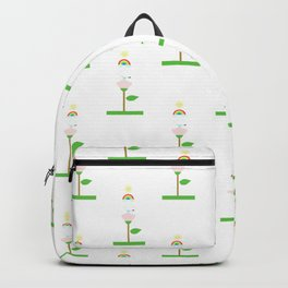 nature at spring pattern Backpack
