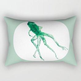 Study of a frog #01 Rectangular Pillow