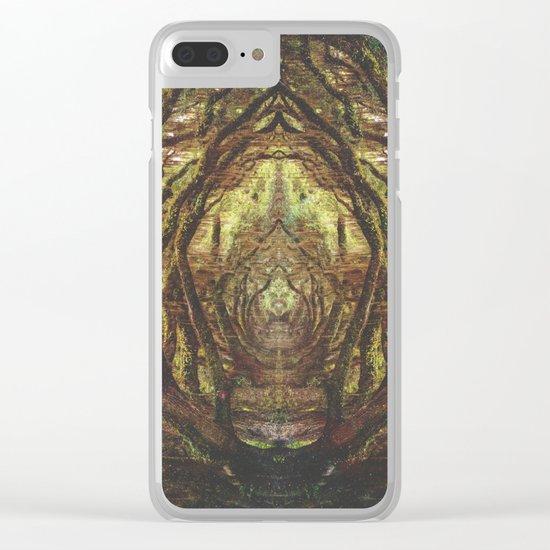 Woods II Clear iPhone Case