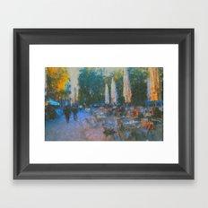 El Fresco Framed Art Print